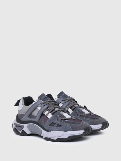 Diesel - S-KIPPER LOW TREK II, Grigio - Sneakers - Image 2