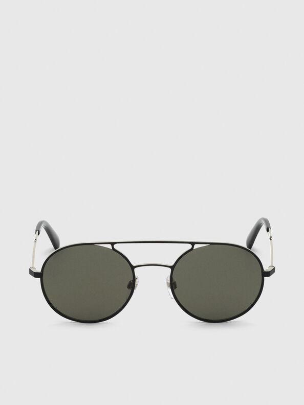 DL0301, Nero/Oro - Occhiali da sole