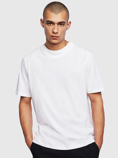 Diesel - T-HUSTY, Bianco - T-Shirts - Image 1