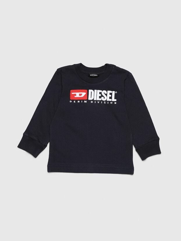 TJUSTDIVISIONB ML-R, Blu Scuro - T-shirts e Tops