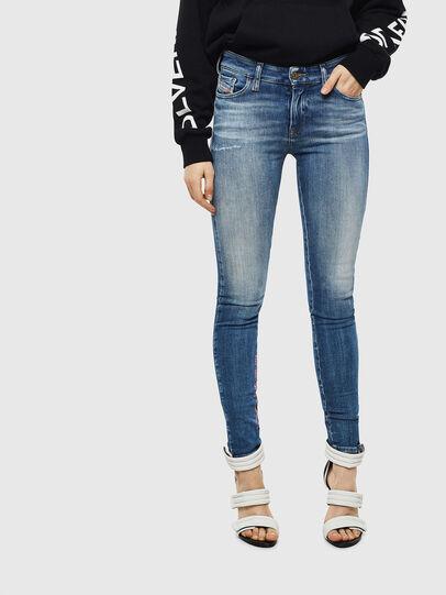Diesel - Slandy 009CJ, Blu medio - Jeans - Image 1