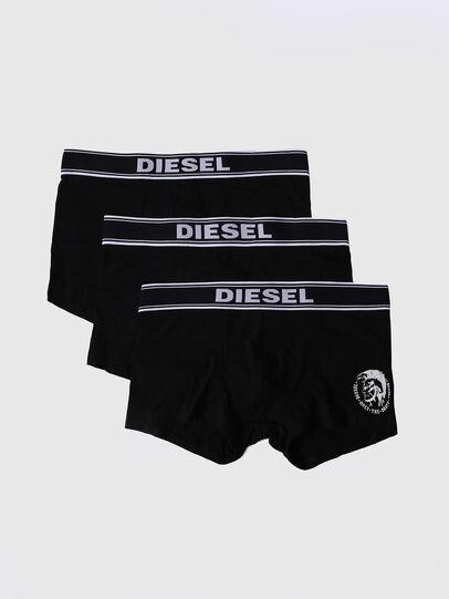 Diesel - UMBX-SHAWNTHREEPACK, Nero - Boxer stretch - Image 1