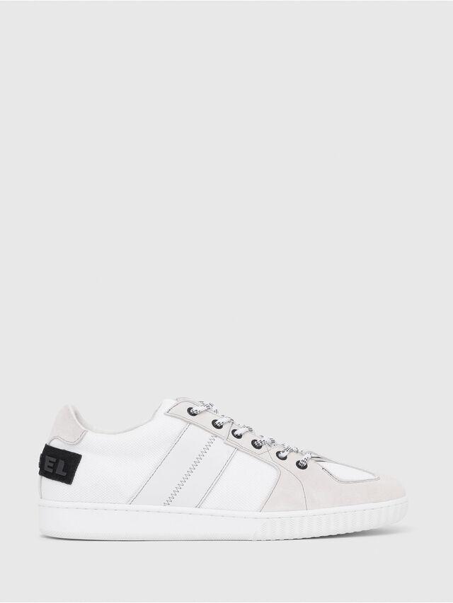 Diesel - S-MILLENIUM LC, Bianco/Rosa - Sneakers - Image 1
