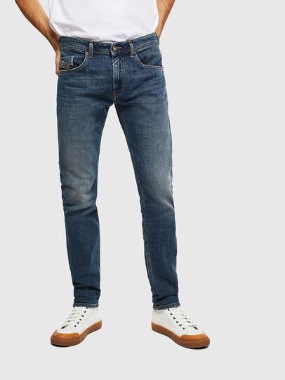 Diesel - Thommer 0095M, Blu Scuro - Jeans - Image 1