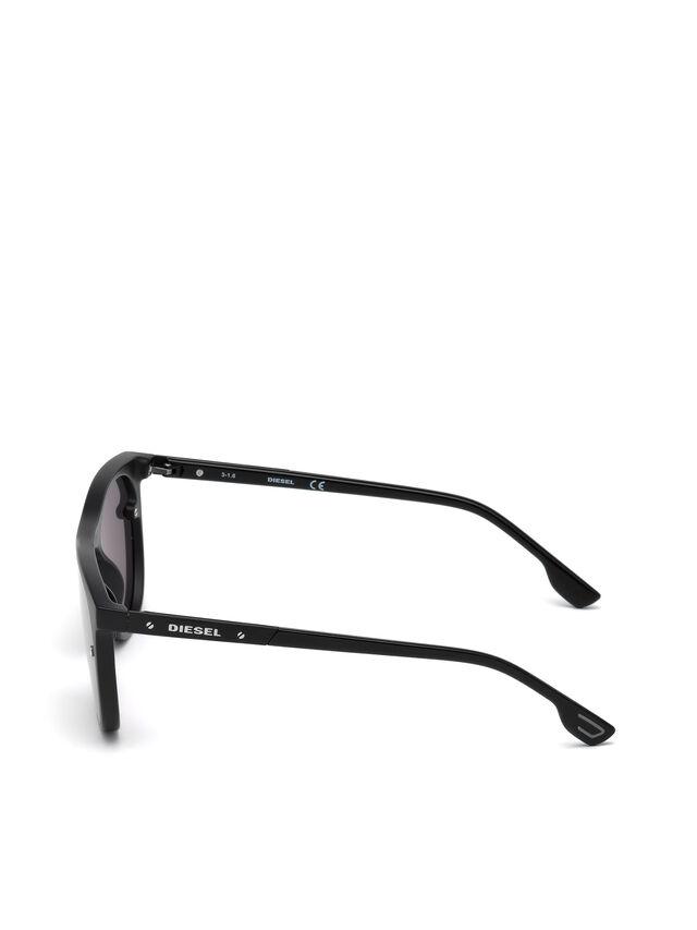 Diesel - DL0217, Nero - Occhiali da sole - Image 3