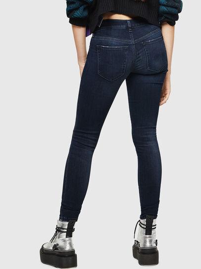 Diesel - Slandy Low 0870C, Blu Scuro - Jeans - Image 2
