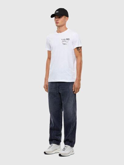 Diesel - T-DIEGOS-N21, Bianco - T-Shirts - Image 5