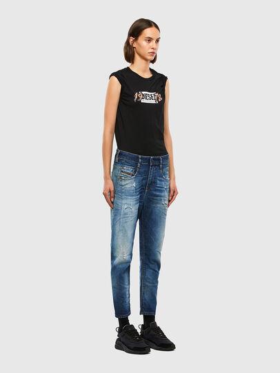Diesel - Fayza 009LF, Blu medio - Jeans - Image 6
