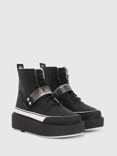 Diesel - H-SCIROCCO STRAP, Nero - Sneakers - Image 2
