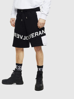 P-SHAM, Nero/Bianco - Shorts