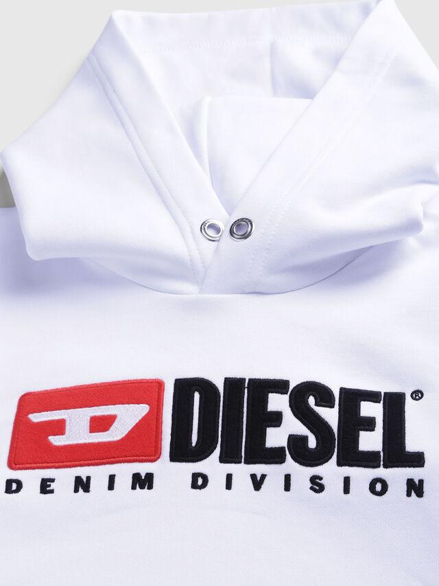Diesel - SDIVISION OVER, Bianco - Felpe - Image 3