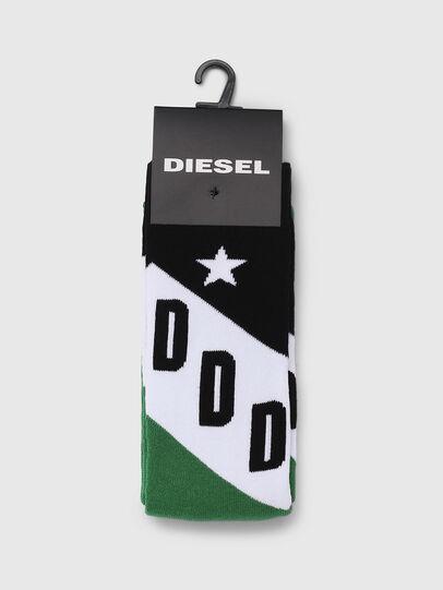 Diesel - SKM-RAY, Verde/Nero - Calzini - Image 2