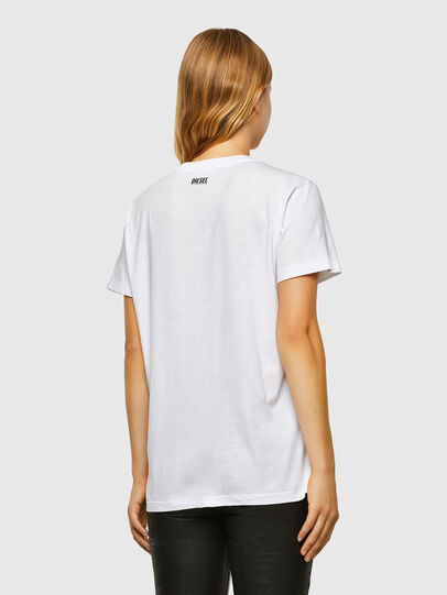 Diesel - T-DARIA-V33, Bianco - T-Shirts - Image 2