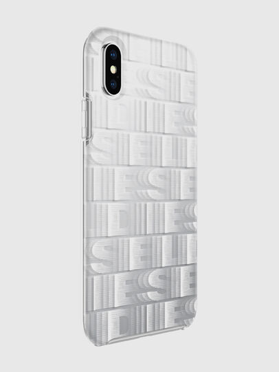 Diesel - DIESEL PRINTED CO-MOLD CASE FOR IPHONE XS & IPHONE X, Bianco - Cover - Image 6