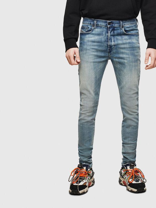 D-Amny 069LH, Blu medio - Jeans