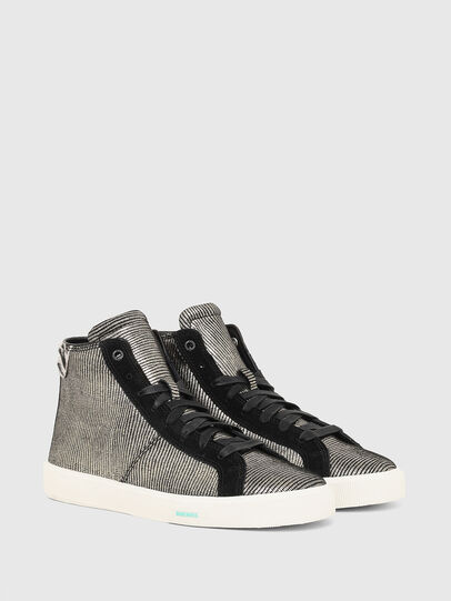 Diesel - S-MYDORI MC W, Grigio/Nero - Sneakers - Image 2