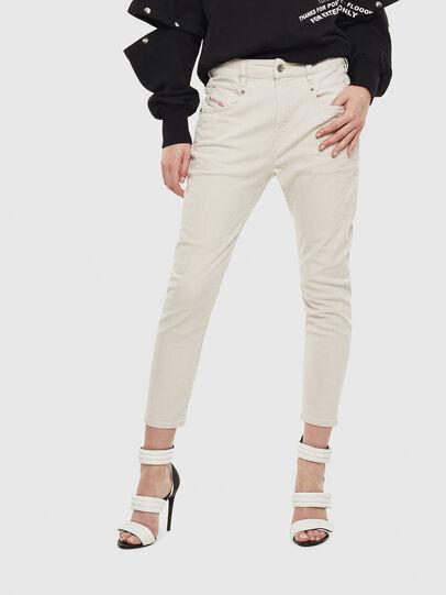 Diesel - Fayza 009BX, Bianco sporco - Jeans - Image 1