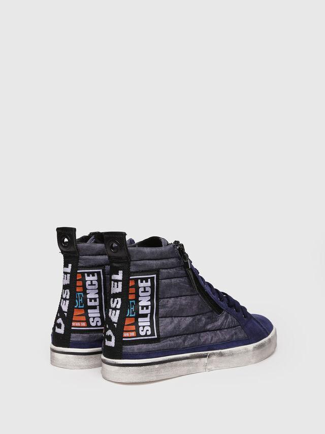 Diesel - D-VELOWS MID PATCH, Blu Scuro - Sneakers - Image 2