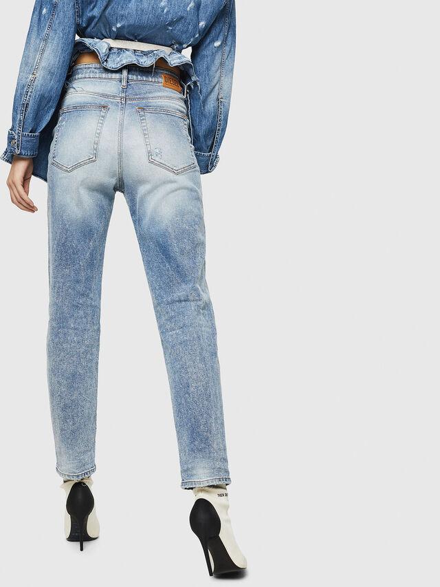 Diesel - D-Eiselle 084AA, Blu Chiaro - Jeans - Image 2