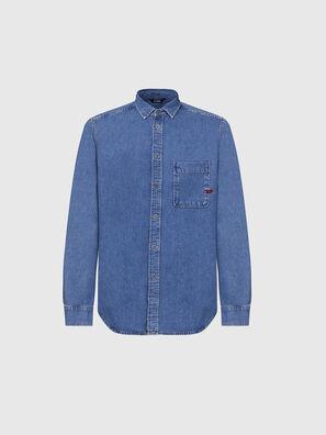 D-BILLY, Blu medio - Camicie in Denim