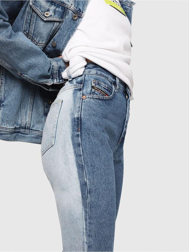 Diesel - D-Eiselle 0077V, Blu medio - Jeans - Image 3