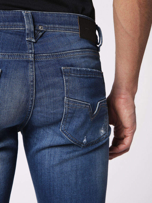 LARKEE 084QQ, Blu Jeans
