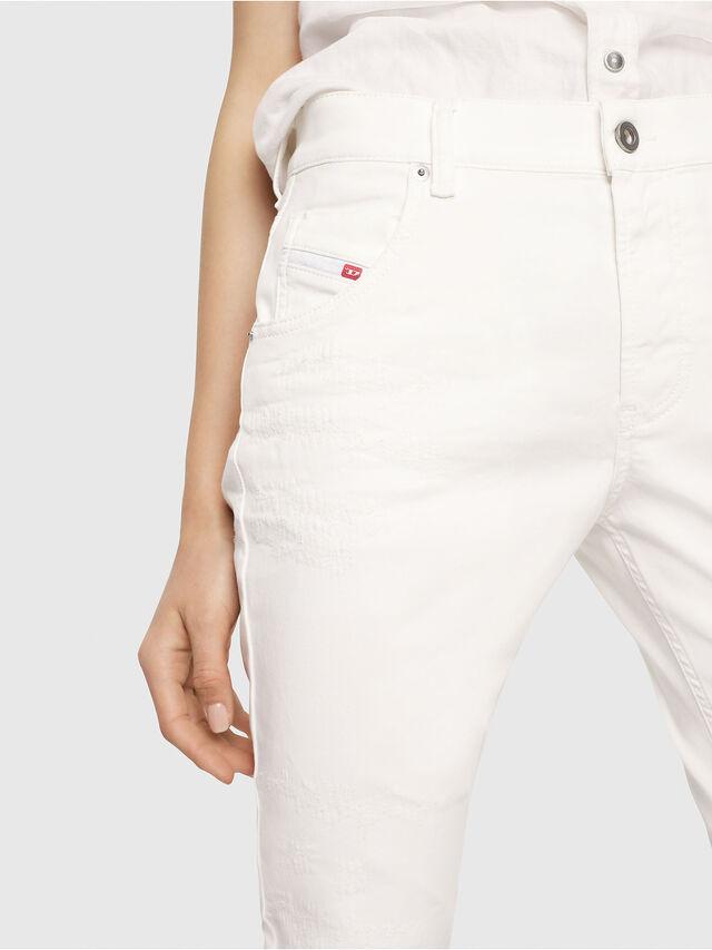 Diesel - Krailey JoggJeans 069DS, Bianco - Jeans - Image 3