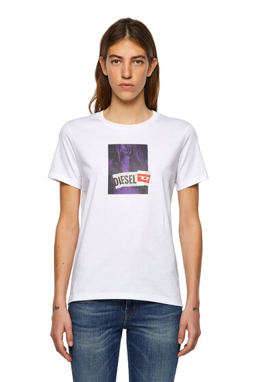 T-shirt con stampa fotografica digitale