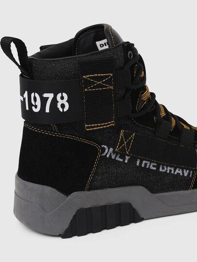 Diesel - S-RUA MID SP, Nero - Sneakers - Image 5