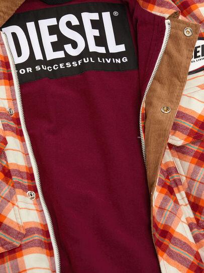 Diesel - J-TANIFER, Rosso/Bianco - Giacche - Image 5
