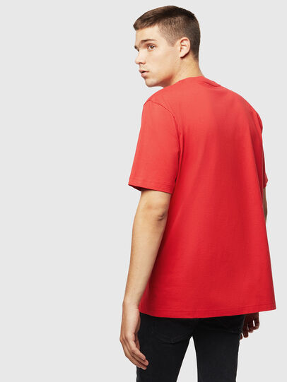 Diesel - T-JUST-J5, Rosso - T-Shirts - Image 2