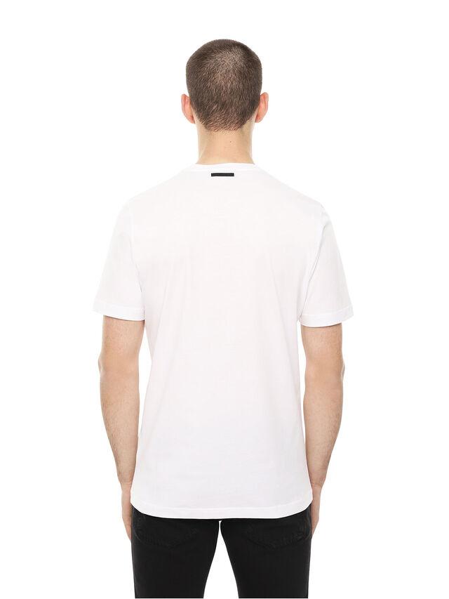 Diesel - TY-ARPDAVIS, Bianco - T-Shirts - Image 2