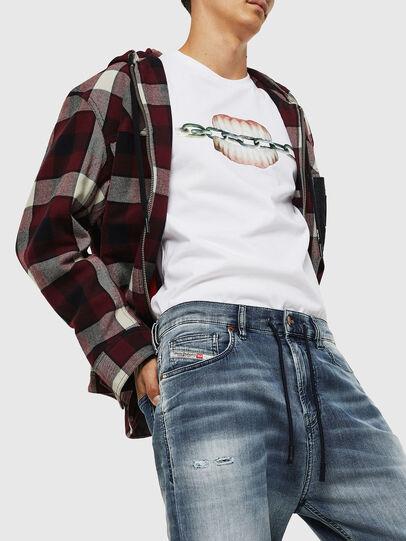 Diesel - D-Vider JoggJeans 069IP, Blu medio - Jeans - Image 3
