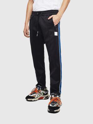 P-YEGOX, Nero/Blu - Pantaloni