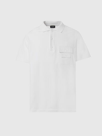 Diesel - T-TASK-POLO, Bianco - Polo - Image 1