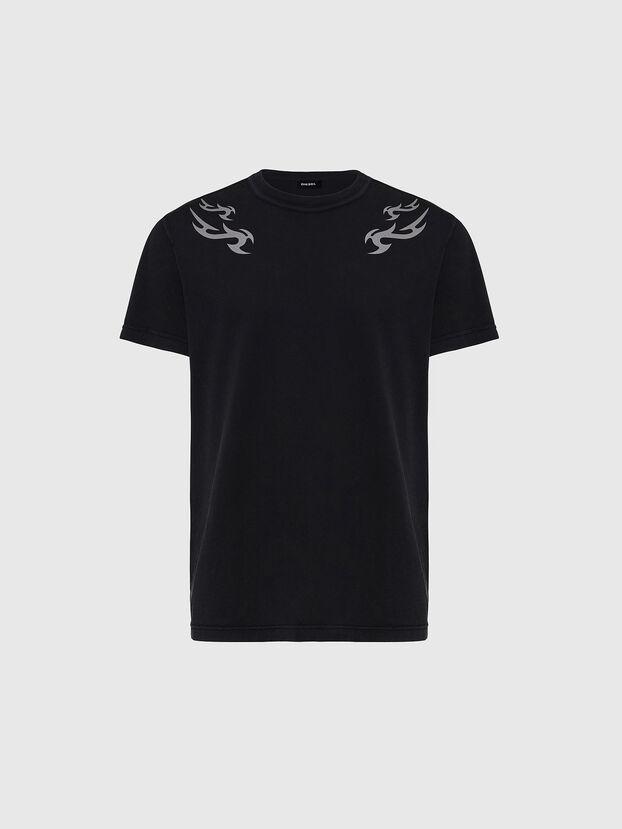 T-DIEBIND, Nero - T-Shirts