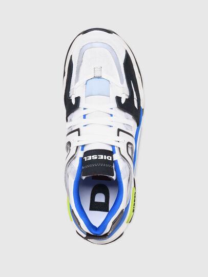 Diesel - S-KIPPER LOW TREK II, Bianco/Nero - Sneakers - Image 6