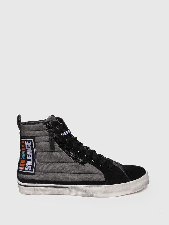 Diesel - D-VELOWS MID PATCH, Grigio/Nero - Sneakers - Image 1