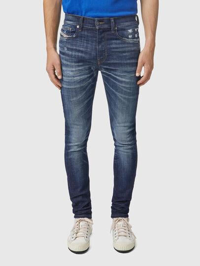 Diesel - D-Amny 09A85, Blu Scuro - Jeans - Image 1