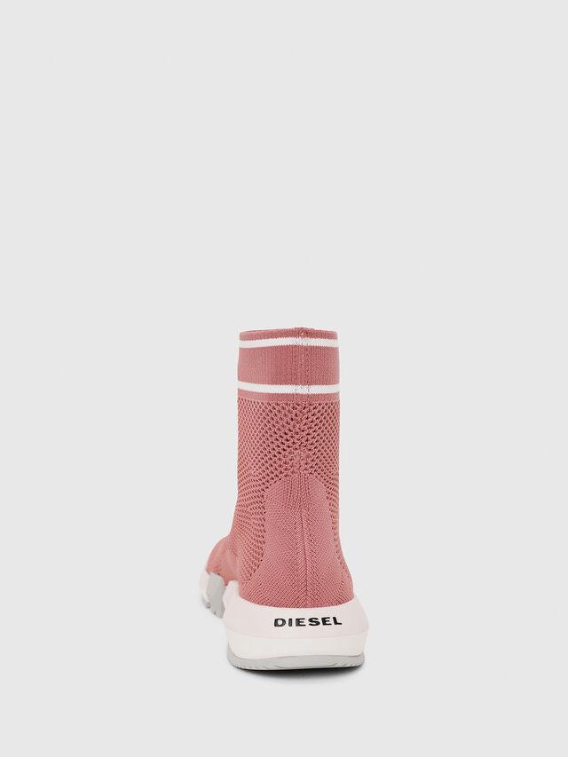 Diesel - H-PADOLA NET W, Rosa - Sneakers - Image 4