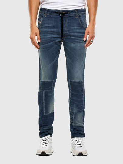 Diesel - KROOLEY JoggJeans® 069NK, Blu medio - Jeans - Image 1