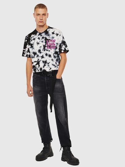Diesel - T-JUST-J23, Nero/Bianco - T-Shirts - Image 8