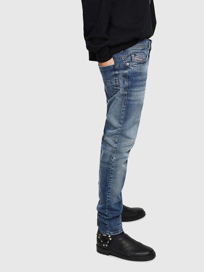 Diesel - Thommer 0853P, Blu medio - Jeans - Image 5