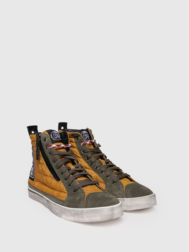 Diesel - D-VELOWS MID PATCH, Giallo - Sneakers - Image 3