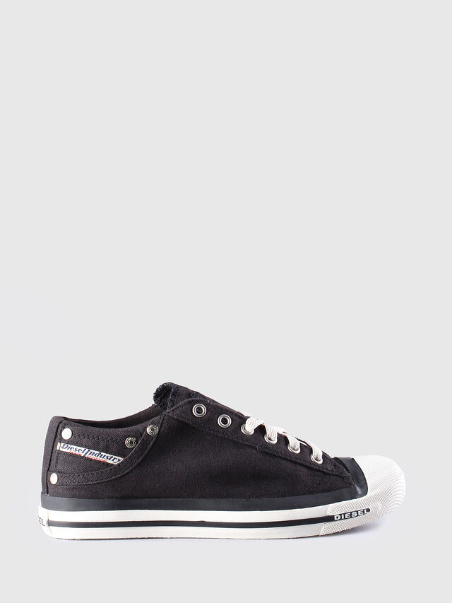 Diesel - EXPOSURE LOW W, Nero - Sneakers - Image 1