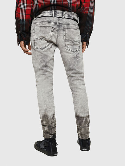 Diesel - Krooley JoggJeans 0091H, Grigio Chiaro - Jeans - Image 2