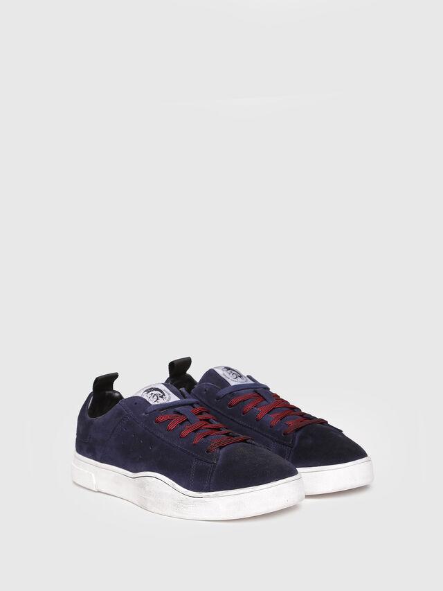 Diesel - S-CLEVER LOW, Blu Scuro - Sneakers - Image 2