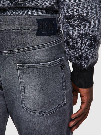 Diesel - D-Strukt JoggJeans® 009QT, Nero/Grigio scuro - Jeans - Image 3
