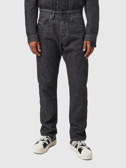 Diesel - D-Viker 0AFAF, Nero/Grigio scuro - Jeans - Image 1