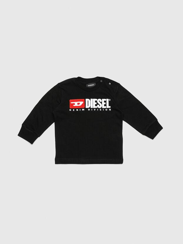 TJUSTDIVISIONB ML, Nero - T-shirts e Tops